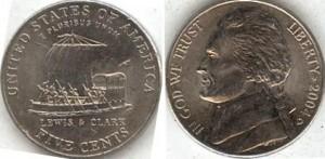 Никелевые 5 центов