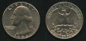 Американский доллар 1982 года