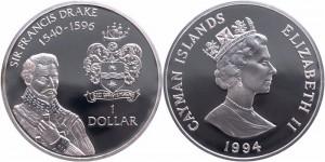 Монеты Кайманов