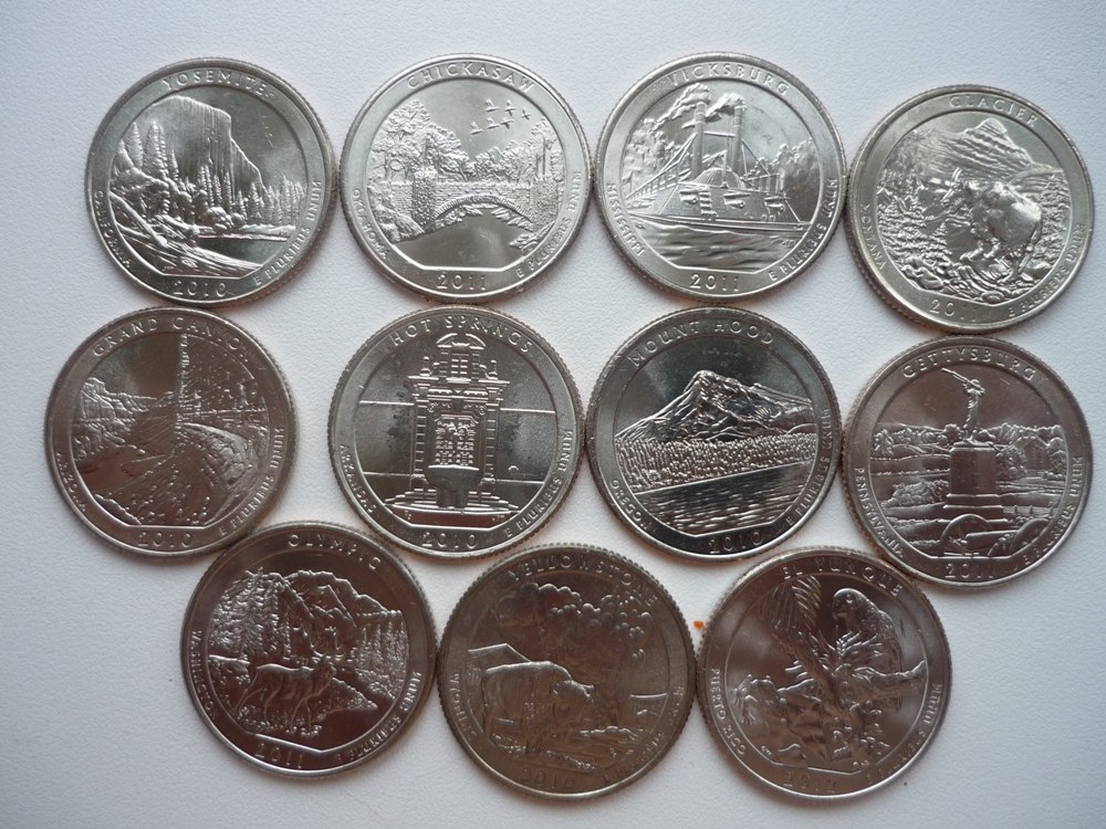 Как чеканят американские монеты (видео)