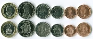Монеты и центы Ямайки
